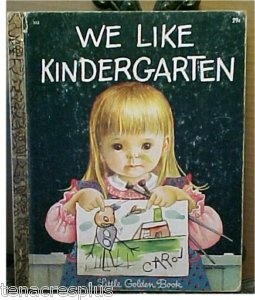 ~ Kindergarten LUV ~ I had this book!  The little girl's face is so precious!Little Golden Book, Favorite Book, Golden Books Display, Children Book