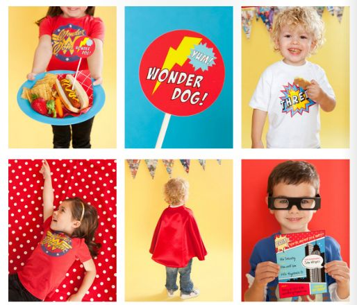 Kids' superhero party ideas: the ultimate roundup of invitations, decor, printables and favors