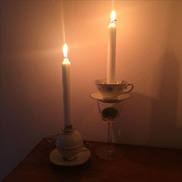 Candleholders, ljusstake, DIY