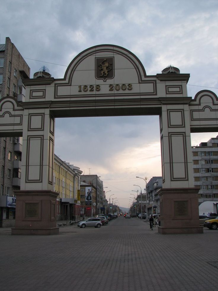 арка, Krasnoyarsk