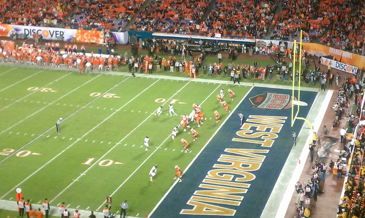 Orange Bowl and the td that put Clemson away for good.