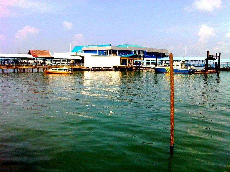 Penyengat Island Harbour