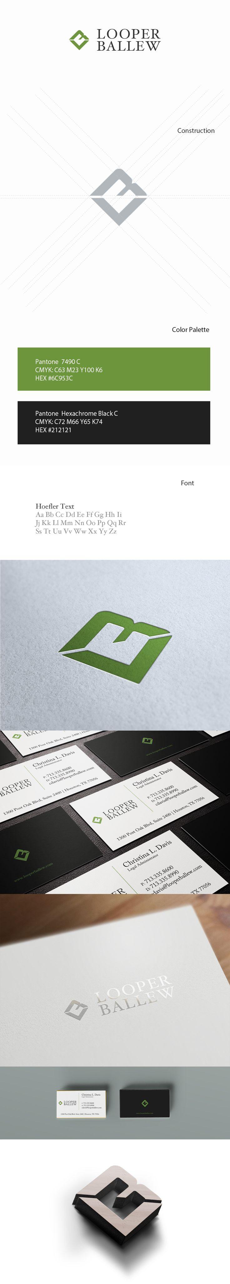 Looper Ballew - Law Firm Branding & Logo Design