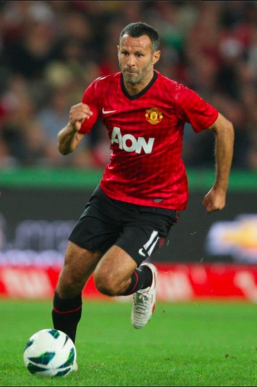 Ryan Giggs--Manchester United The Welsh Wizard!...