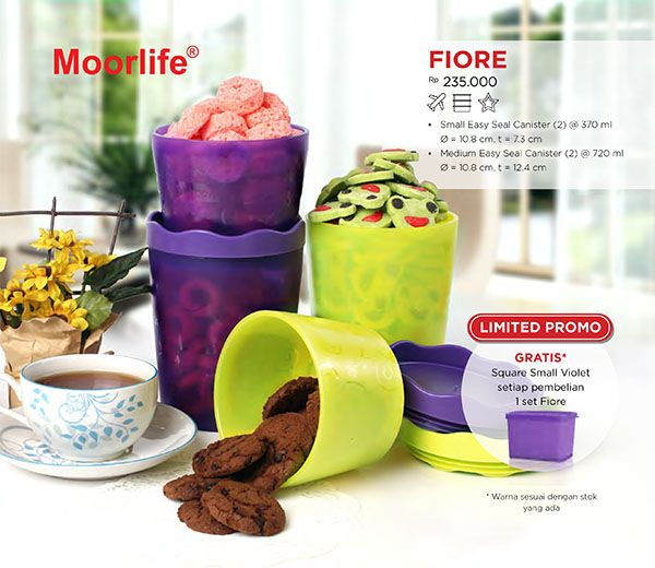 Moorlife Fiore FREE 1 pc Medium Violet