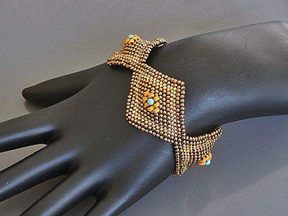 Einzigartige Diamanten Armband Anleitung von Ravit auf Etsy