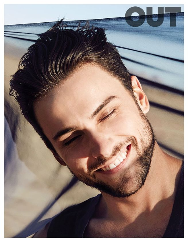 How to Get Away With Murder Star Jack Falahee Ventures Outdoors for Out March 2015 Cover Shoot