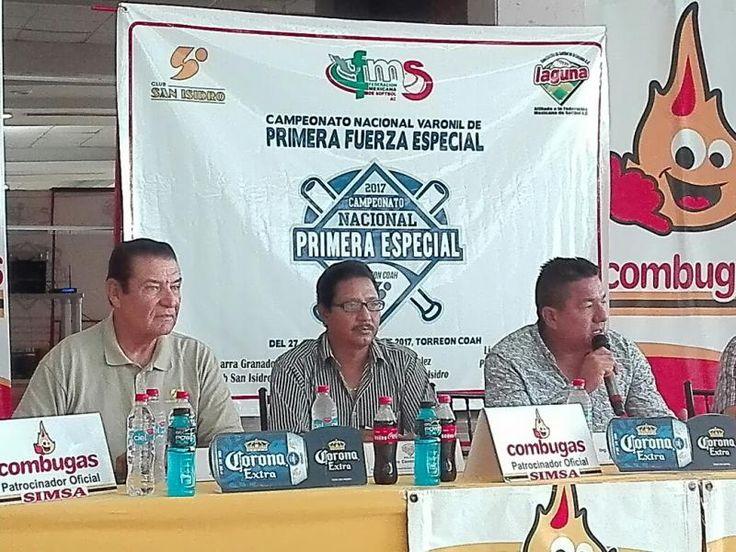 Anuncian campeonato nacional de softbol de primera fuerza