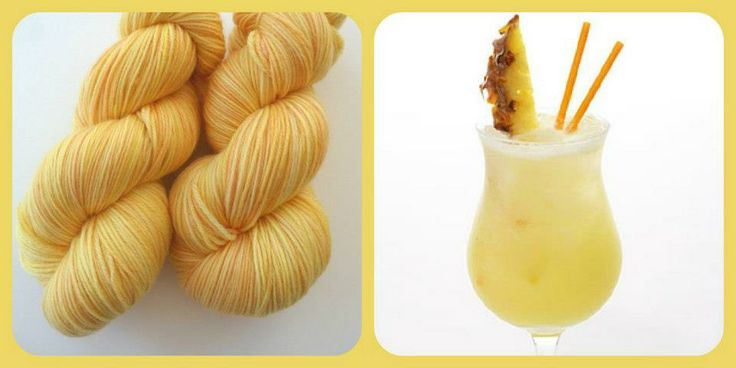 Do You Like Pina Colada's - Summer Cocktails | Red Riding Hood Yarns
