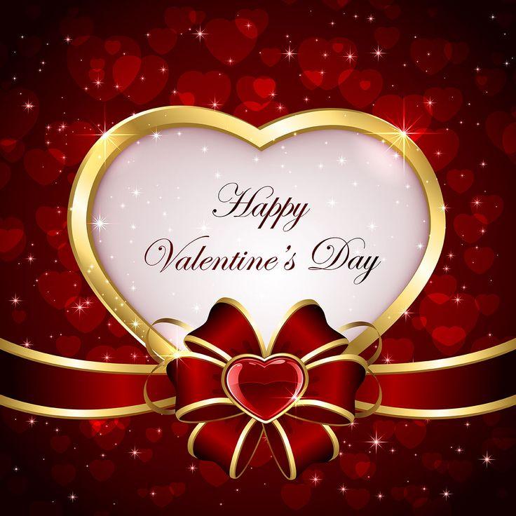 Векторный клипарт. День Святого Валентина. Векторные сердечки, картинки с сердечками и бантиками, фон для открытки, рисунки сердечек, бантик с лентами в красном цвете.