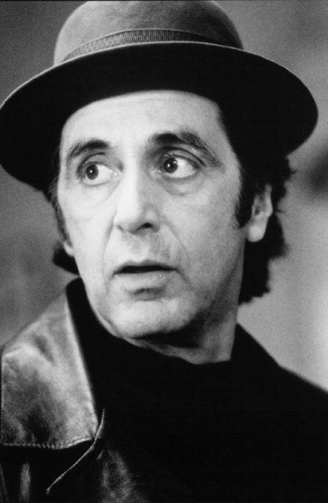 Jessica also chose Al Pacino as Benjamin Lefty Ruggiero in Donnie Brasco