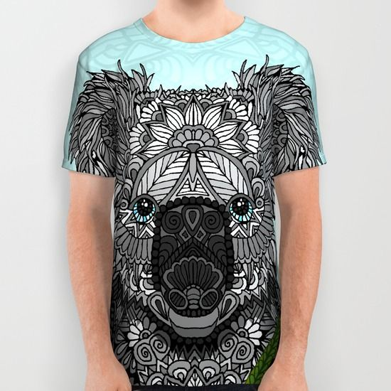 Buy Koala All Over Print Shirt by ArtLovePassion. Worldwide shipping available at Society6.com. Just one of millions of high quality products available.