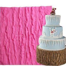 Розовый дерево кружева вен силиконовый помады торт плесень декоративная сахар для выпечки модель