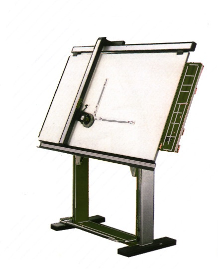 Drafting Tables | Complete Design/Drafting Station Including Track Drafting  Machine ... Sweet