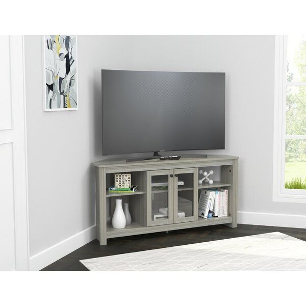 Wisser Tv Stand For Tvs Up To 60 Corner Tv Stand Tv Stand With Glass Doors Tv Stand Corner tv stands for flat screens