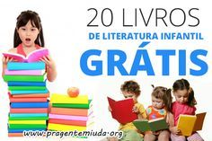 20 livros de literatura infantil para baixar
