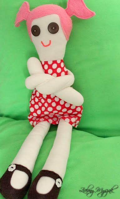 #doll #handmade #polska #fabricdoll #handmadedoll