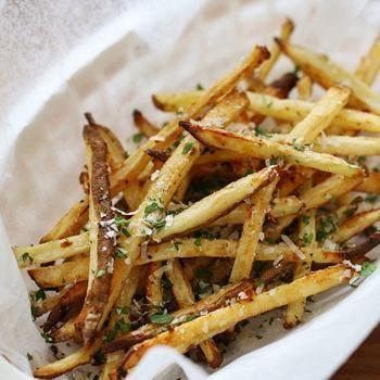 Skinny Garlic Parmesan Fries Recipe - ZipList