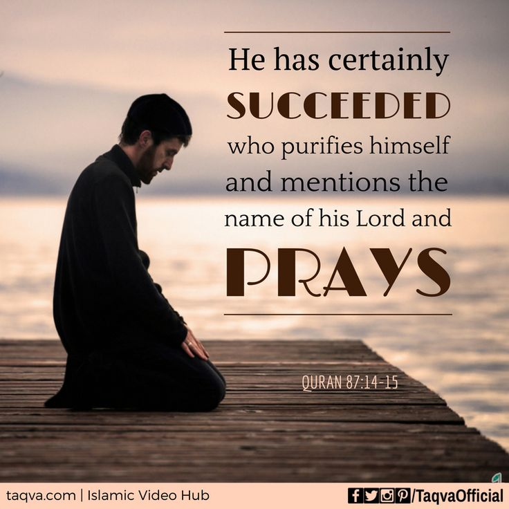 """""""He has certainly #succeeded who purifies himself, and mentions the name of his #Lord and #prays."""" #Quran 87:14-15 #islam #islamic #reminder #quranic #quotes #salah #prayer #pray #religion #God #Allah #faith #belief #success #muslim #muslims #ummah #inspirational #motivation #motivationalquotes #life #lifegoals #zikr #pure #purity #taqva"""