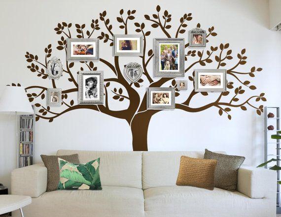 17 mejores ideas sobre calcoman a de cabecera en pinterest - Arboles en la pared ...