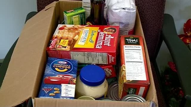 Local dentist offices take part in 'food fight' food drive