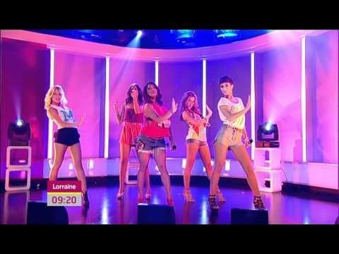 The Saturdays: Live Perfomance On Lorraine (27 June 2011) (HD)