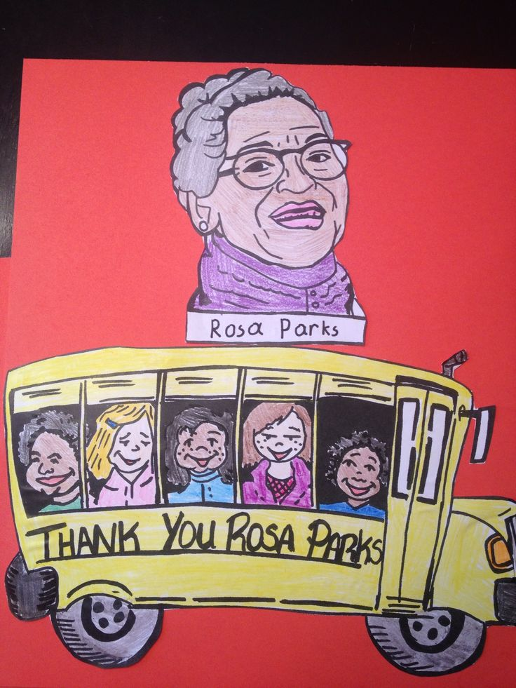 Rosa Parks Crafts For Kids