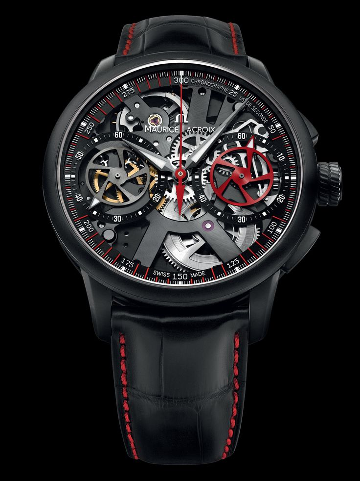 The new Masterpiece Le Chronographe Squelette Limited Edition Collection watch - Presentwatch.com