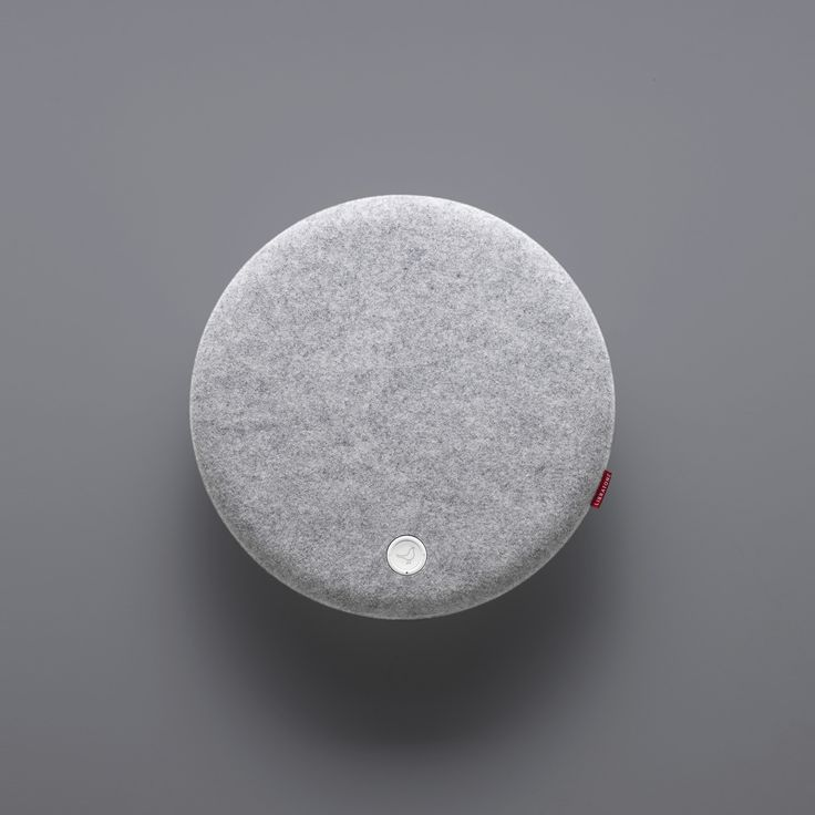 Libratone Loop wireless speaker. Organic finish in a rather technical product.