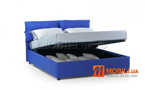 итальянская двухспальная кровать с подъемником и местом для белья http://moblili.ua