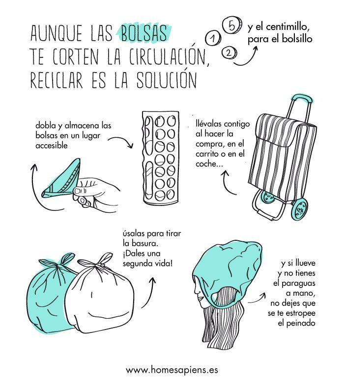 Los mil y un usos de la bolsa de plástico
