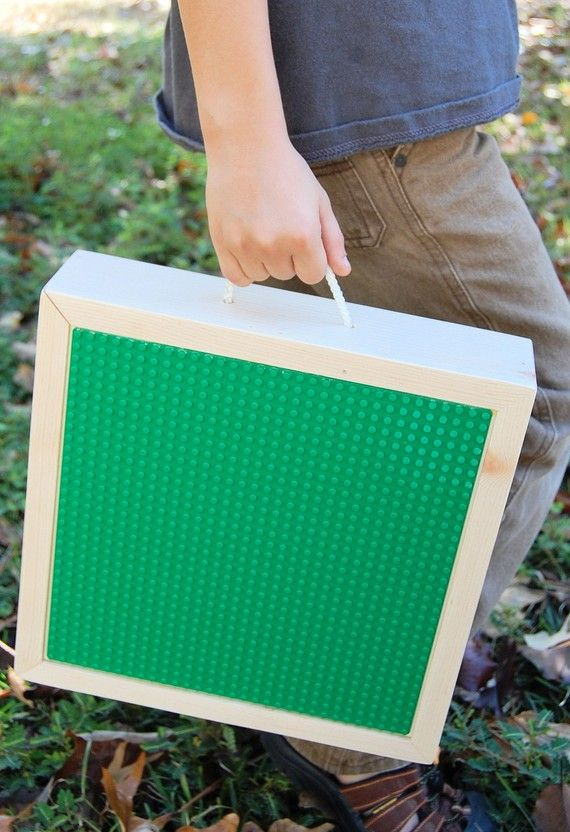 Portable Lego Storage Box and Carrying Case by ruthie050573, $60.00
