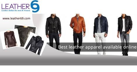 Browse our huge selection of Leather Jackets at http://leather69.com/