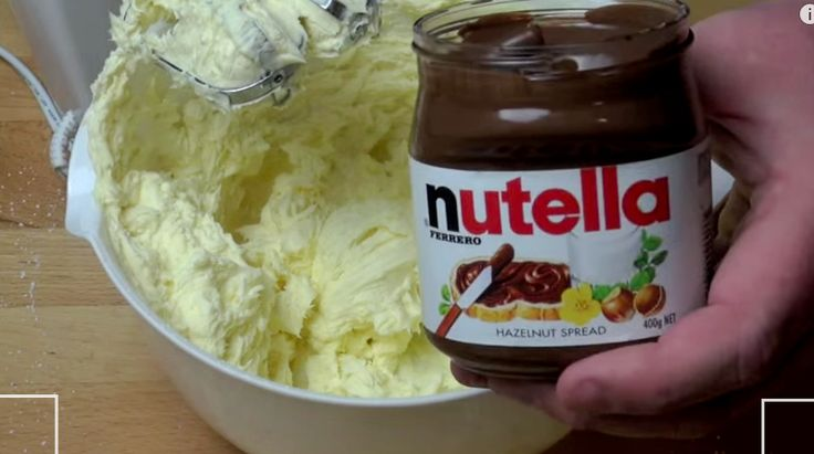 You Won't Believe What This Guy Was Able To Make With Just Mixing Butter And Nutella! You'll Love It!