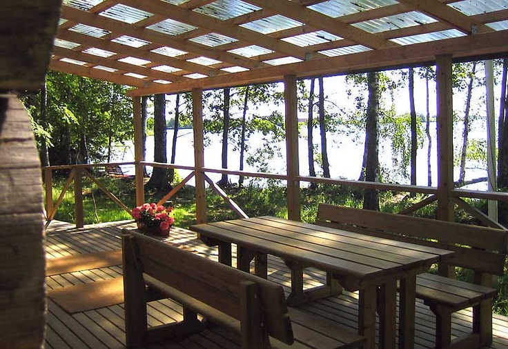 Start your day at Villa Matilda's porch.