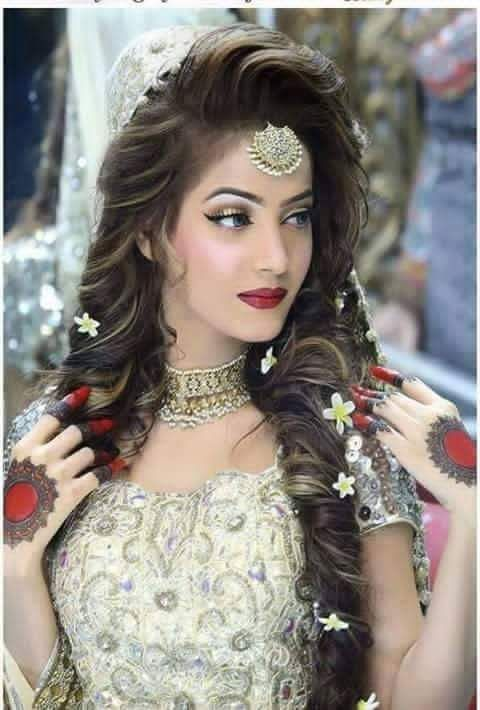 17 Best Ideas About Mehndi Hairstyles On Pinterest