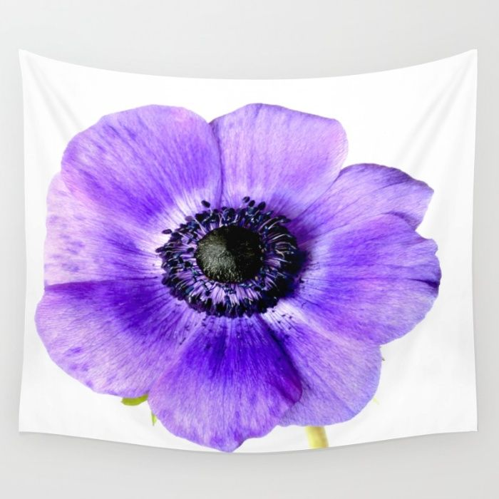 Pretty Purple Flower  Wall Tapestry