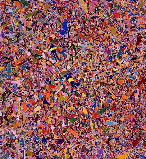 Alighiero Boetti, Everything (1987 - 1988) on ArtStack #alighiero-boetti #art