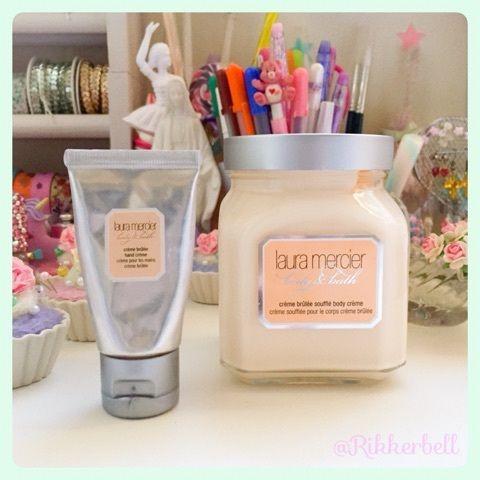 ♡laura mercier hand&body cream cream brulee