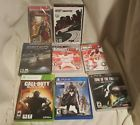 ps4 - ps3 - psp - xbox 360 - pc lot of 8 videos games  Price 10.3 USD 17 Bids. End Time: 2017-02-22 03:26:14 PDT