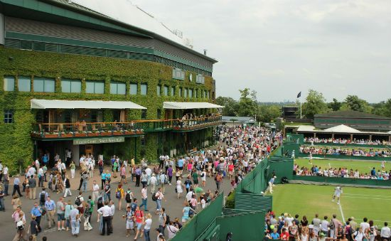 """Wimbledon is the hardest grand slam tournament to get tickets for. Here are the options. Planning to go to The Wimbledon Championships this year or next? Get 38 pages of info, tips and website links in your Free copy of the""""Wimbledon e-Companion"""". Find out more and get your FREE copy."""