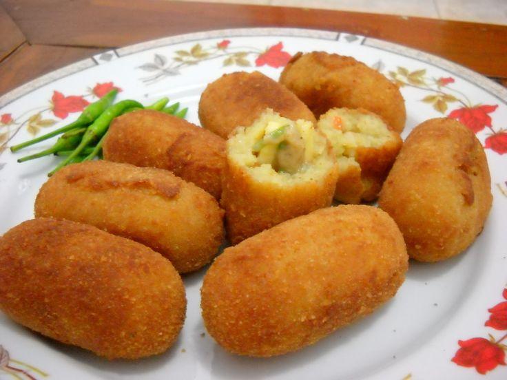 resep kroket kentang isi keju