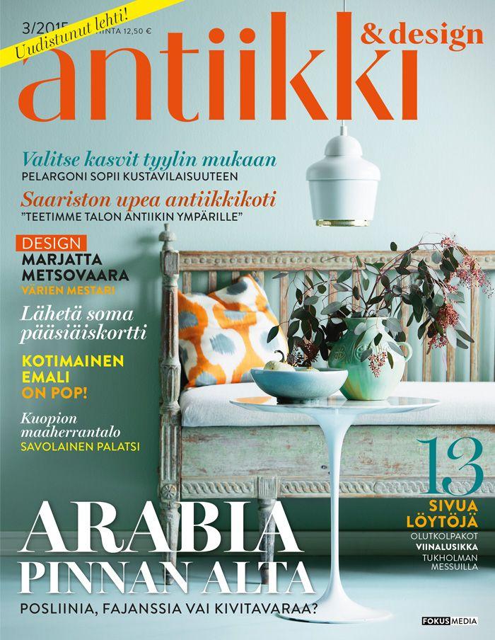Antiikki & Design 3/2015. Photo Kristiina Hemminki/Fotonokka. Styling Irene Wichmann.