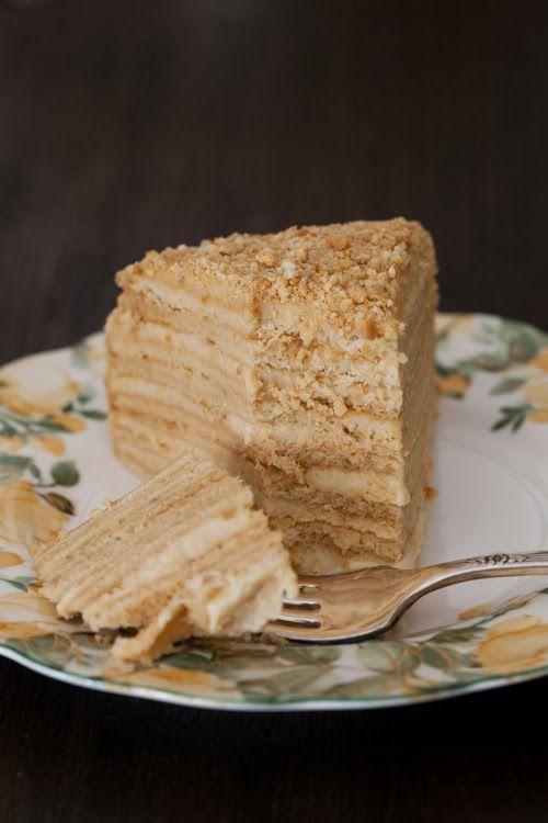 """Russian Monday: """"Medovik"""" - Honey Cake Recipe"""