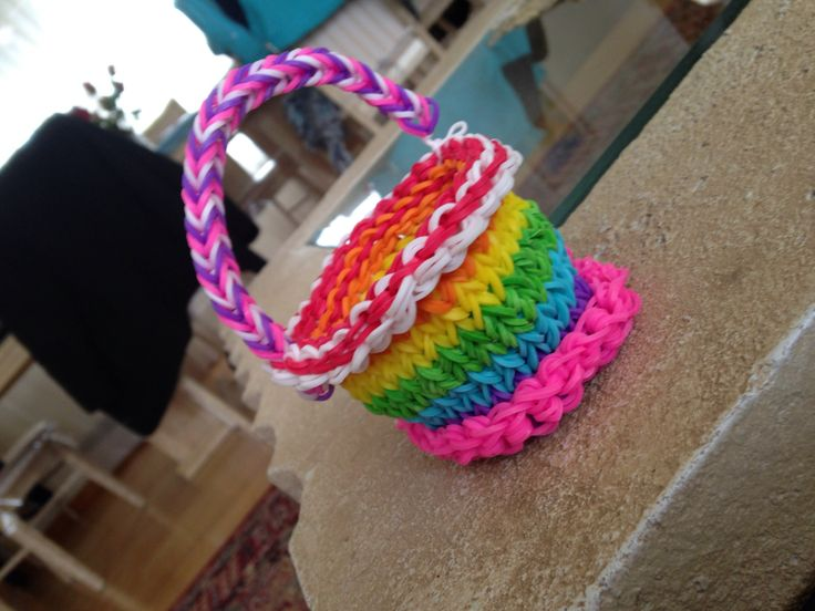 How To Make The Basket Weave Rainbow Loom : Images about rainbow loom on
