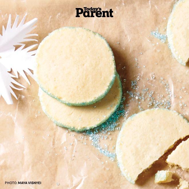 Vanilla Cookies with Crystal Sugar