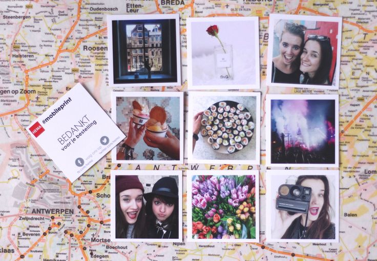 Geluk moet je afdrukken. Heb jij al je Instagram foto's laten afdrukken met onze mobile print service?