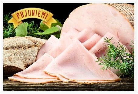 Pajuniemen liha-auto pysähtyy kahvilalla kesälauantaisin klo 16.30.