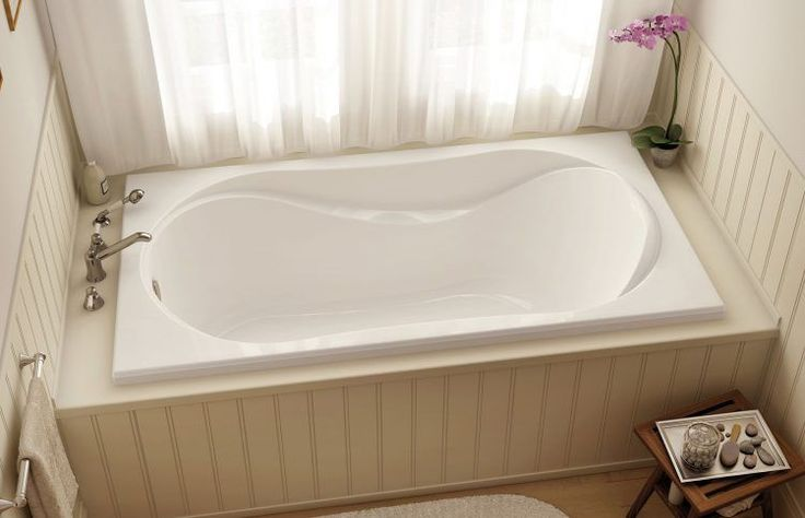 Best 25 drop in tub ideas on pinterest bath panels and for Drop in tub sizes