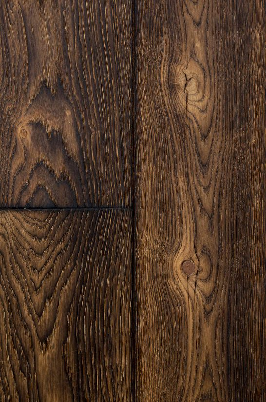 This floor has unique and modern look, this finish achieved by using actual burning of wood.